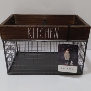"RAE DUNN BASKET "" Kitchen"""